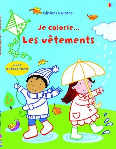 Je Colorie Les Vetements Kay Widdowson Illustrations Categorie