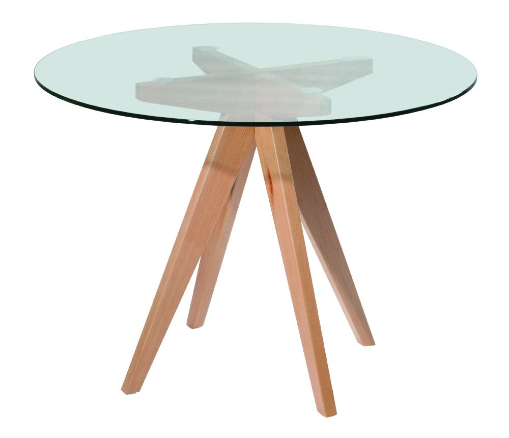 Glass and Wood round table | Home sweet home | Pinterest | Mesa ...