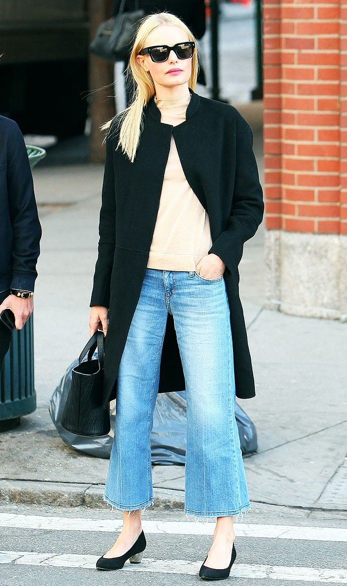 20bf641a8883 Cropped Flares Are the Skinny Jeans of 2016  Here s Proof via  WhoWhatWear