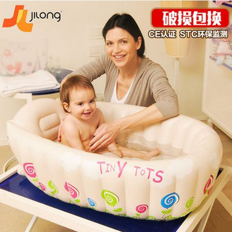 2017 new style baby inflatable tub neonatal baby bath basin four ...