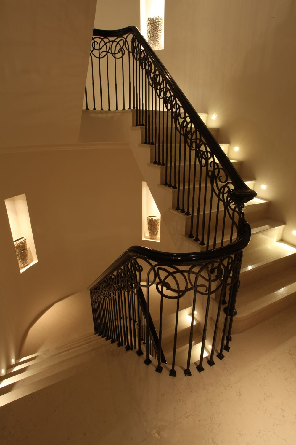 Lighting Basement Washroom Stairs: Perfectly Lit Staircase Lighting By John Cullen