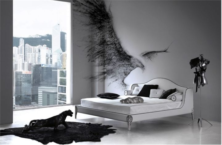 Goth Bedroom Minimalist Design Fascinating Contemporary Minimalist Gothic Bedrooms  Bedroom Ideas . 2017