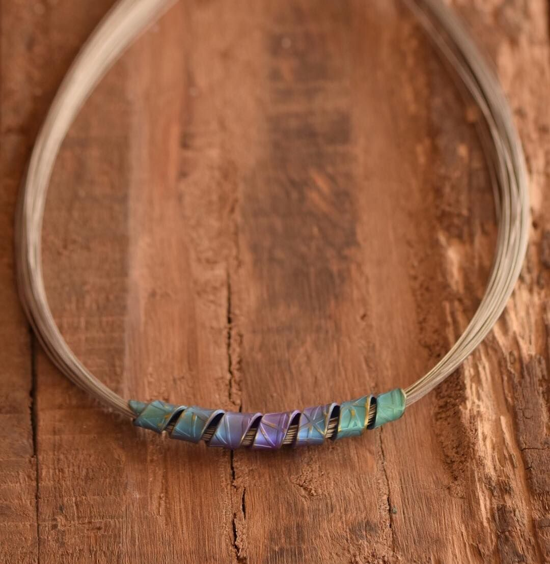 Spiral necklace the protection for your communication chakra
