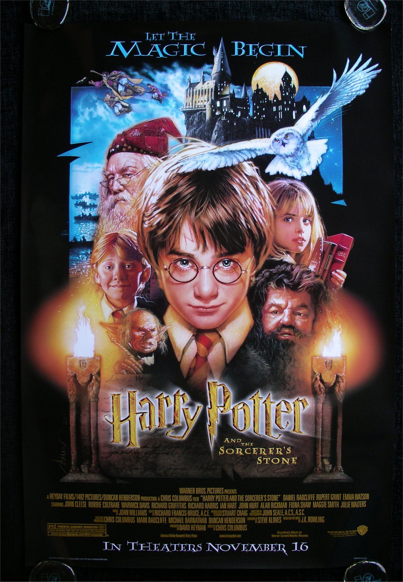 Harry Potter And The Philosopher S Stone 2001 Harry Potter Film Harry Potter Poster Und Seen