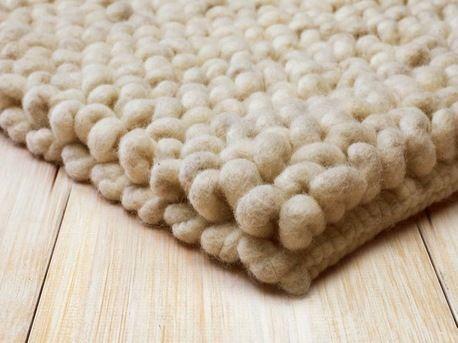 wollteppich  - teppich wohnzimmer grun