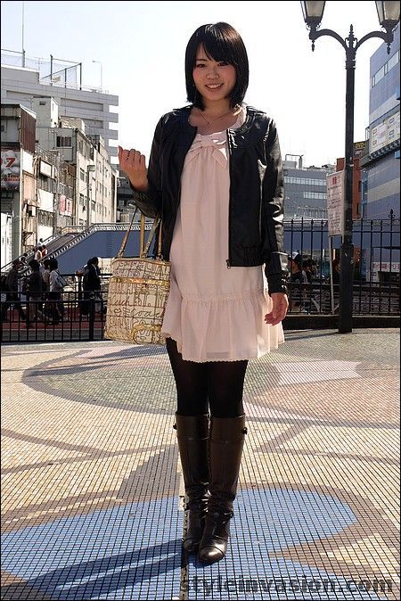 Pretty Dresses Asian Fashion Japanese Street Fashion Style Dresses Leather Tops Tights