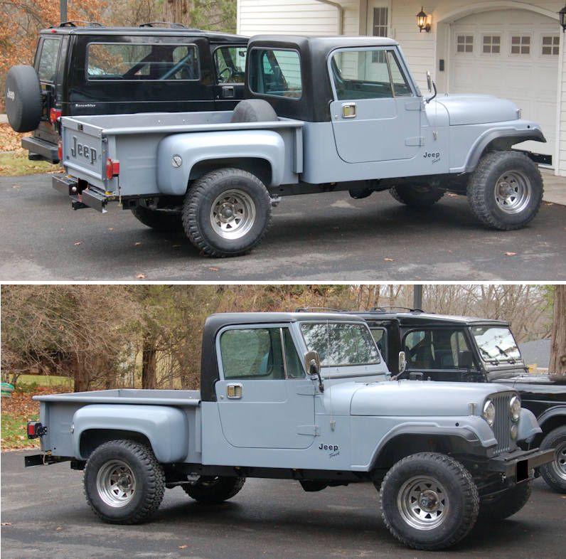 Gaucho Cj Stepside Pickup Build Jeepforum Com Jeep Suv Jeep