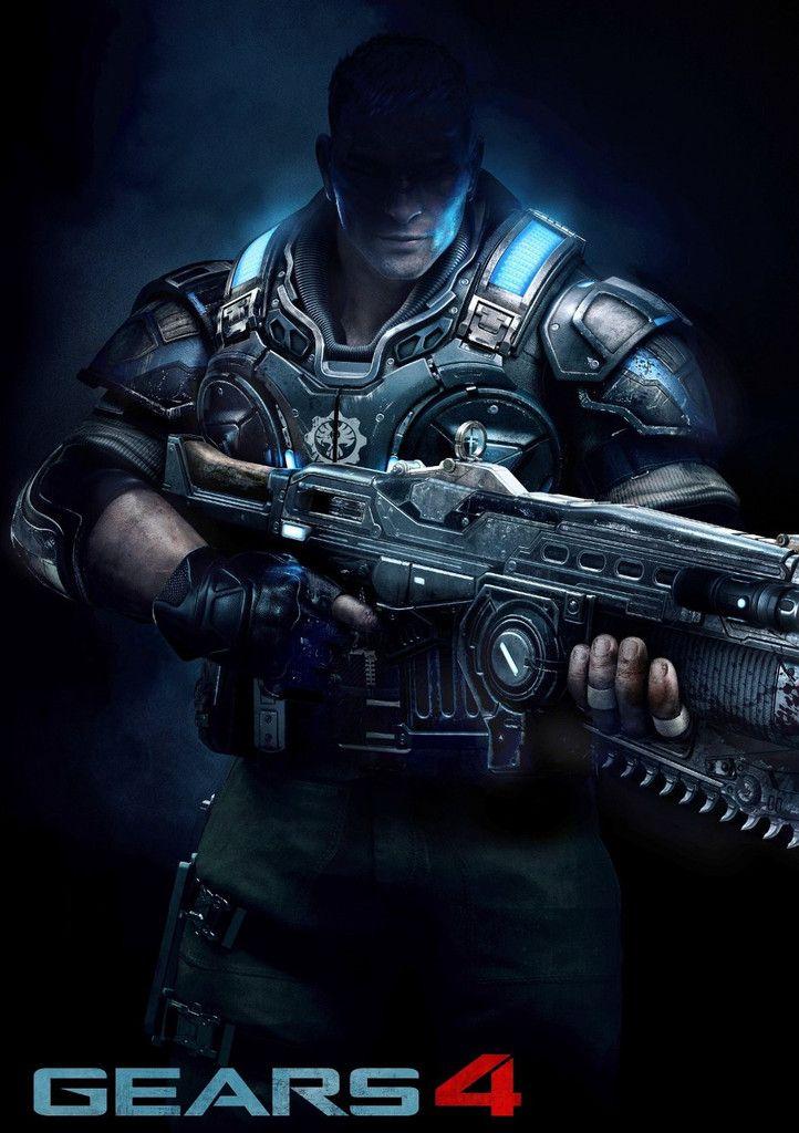 Gears Of War 4 Poster Gears Of War Fondos De Pantalla De Juegos Ilustraciones