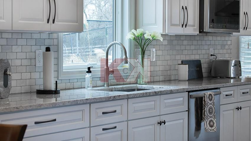 Best Gramercy White Cabinets By Kitchen Cabinet Kings With 400 x 300