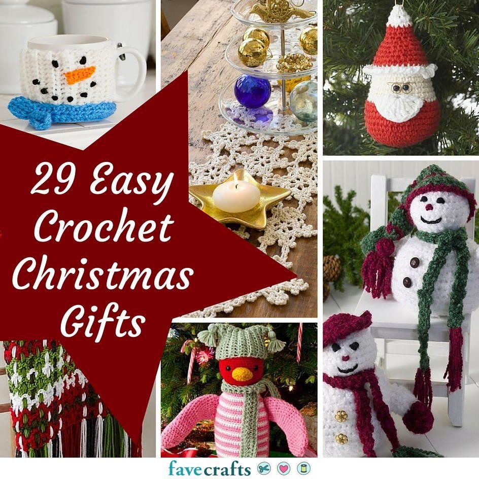 34 Easy Crochet Christmas Gifts | Christmas Crochet Patterns ...