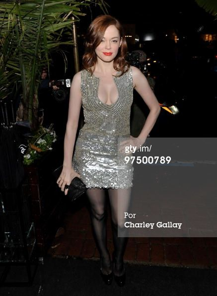 2010...Chanel And Charles Finch Host A Pre-Oscar Dinner