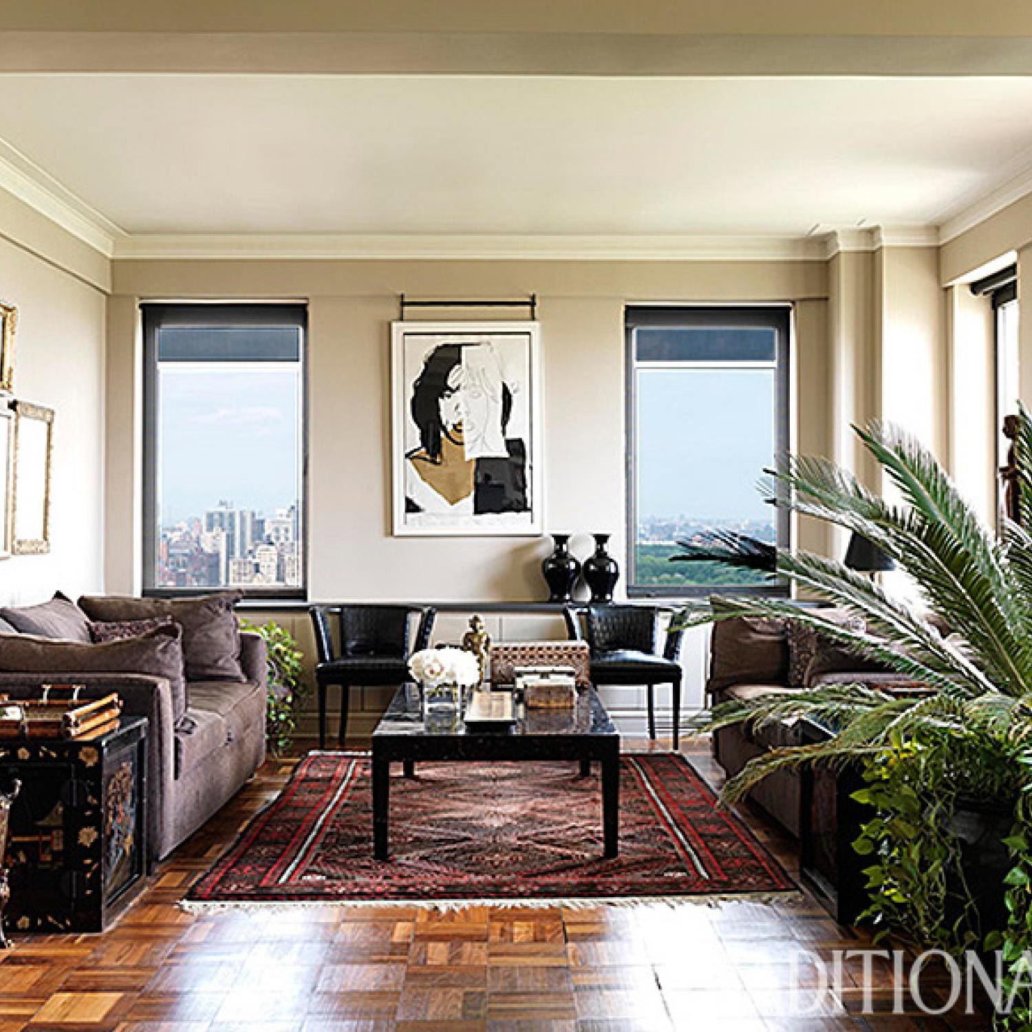 Central Park Apartments New York: Designer Carmen Marc Valvo's New York Apartment And