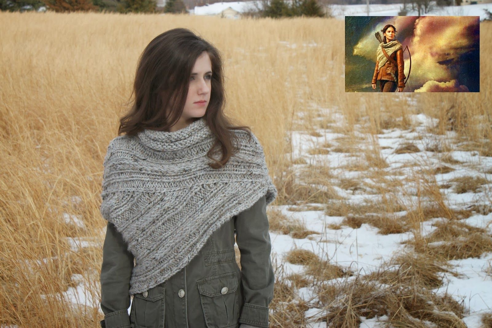 Hunger Games - Joint project with Hannah http://www.ravelry.com ...