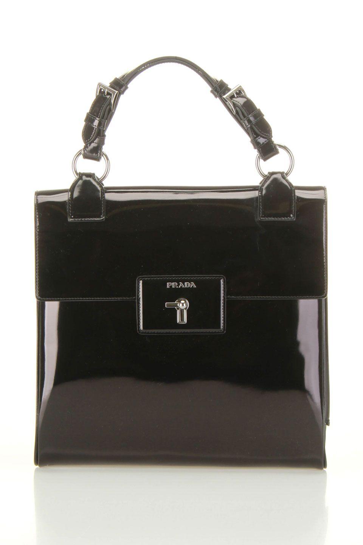 064c3061834d Prada Spazzolato Handbag In Black Black Handbags