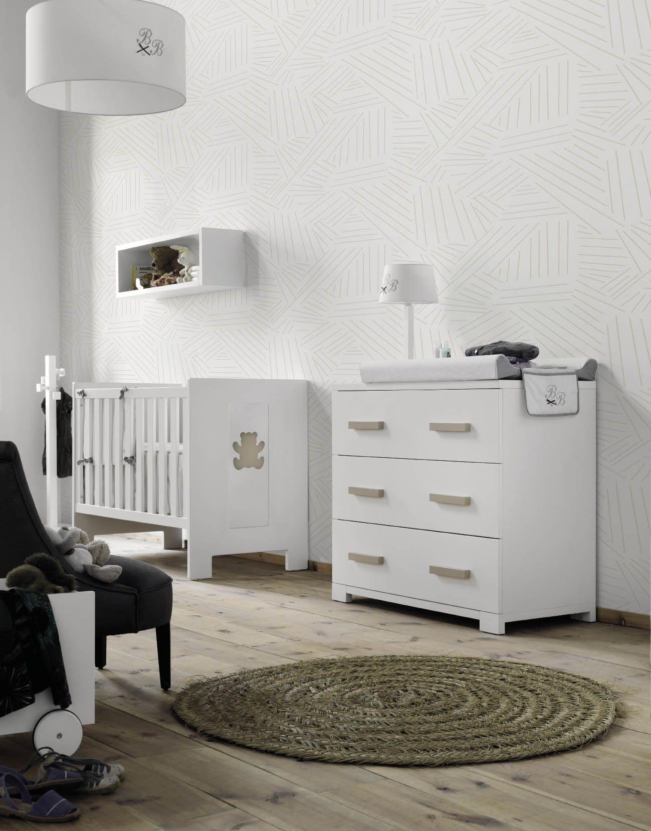Cunas de madera para bebés #decoracion #blancas #nordica   Muebles ...