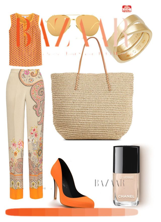 """""""Untitled #170"""" by rosapinki on Polyvore featuring Diane Von Furstenberg, Etro, Shoes of Prey, Cartier and Linda Farrow"""