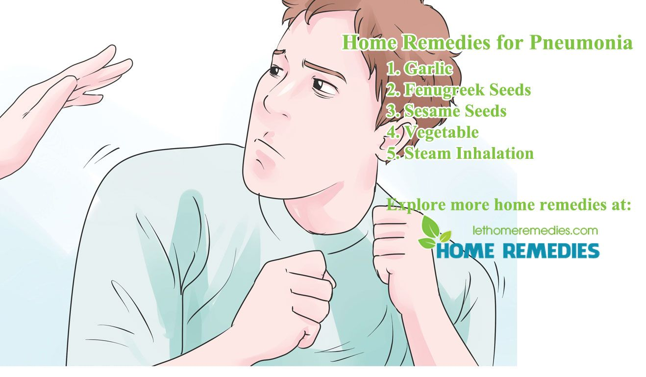 Home Remedies for Pneumonia Home remedies, Natural home