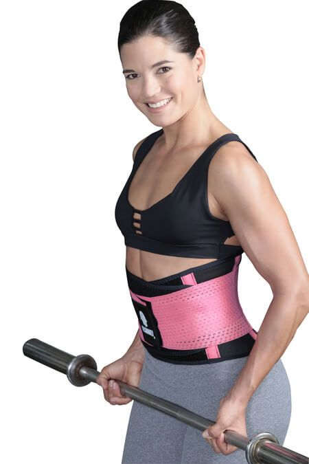 b717ae1d885 Tecnomed Fitness Belt. Used to waist train and maintain hourglass figure  while working out in the gym.