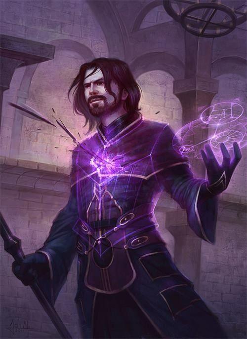 Mind controle sorcerer | Mage in 2019 | Fantasy wizard, Fantasy