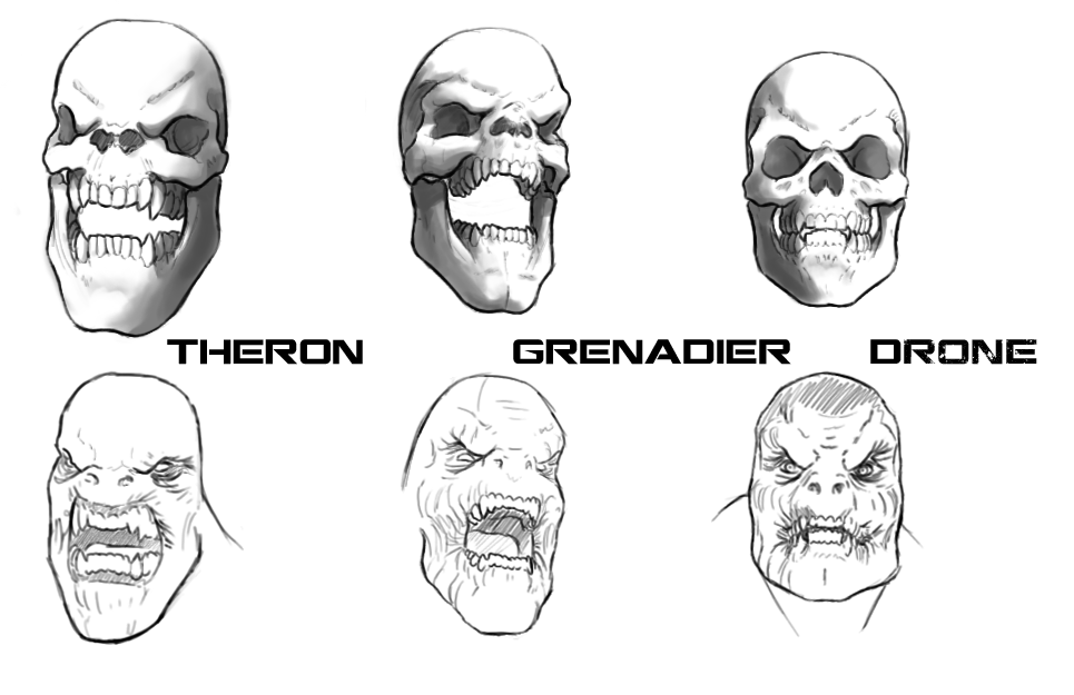 Gears Of War Characters Dibujos Arte Ideas Para Dibujar