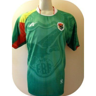 b83bae96e6f BOLIVIA SOCCER JERSEY ONE SIZE LARGE .NEW.STOCK LIQUIDATION. by AGMAR.  $21.99