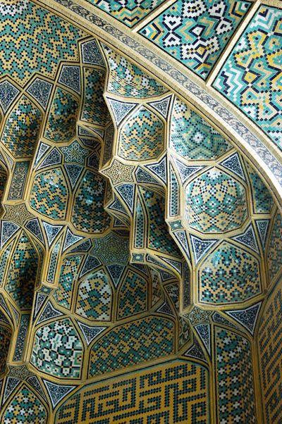 Mosque Interior Design Pattern