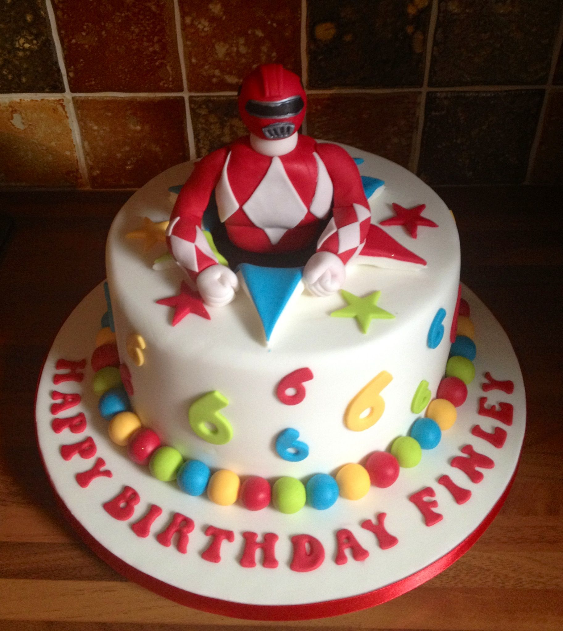 Power Ranger Cake Thomas Birthday Cakes Boy Birthday Cake