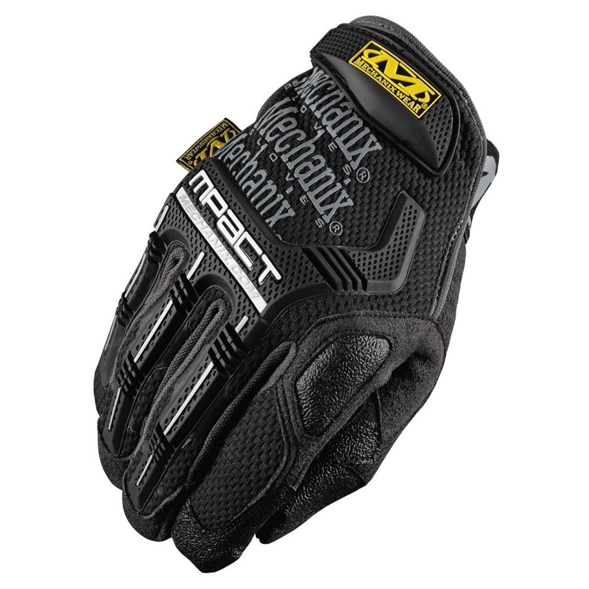 Black gloves races - Mpact Glove With Poron Xrd Black Grey Size Xlarge By Mechanix Wear