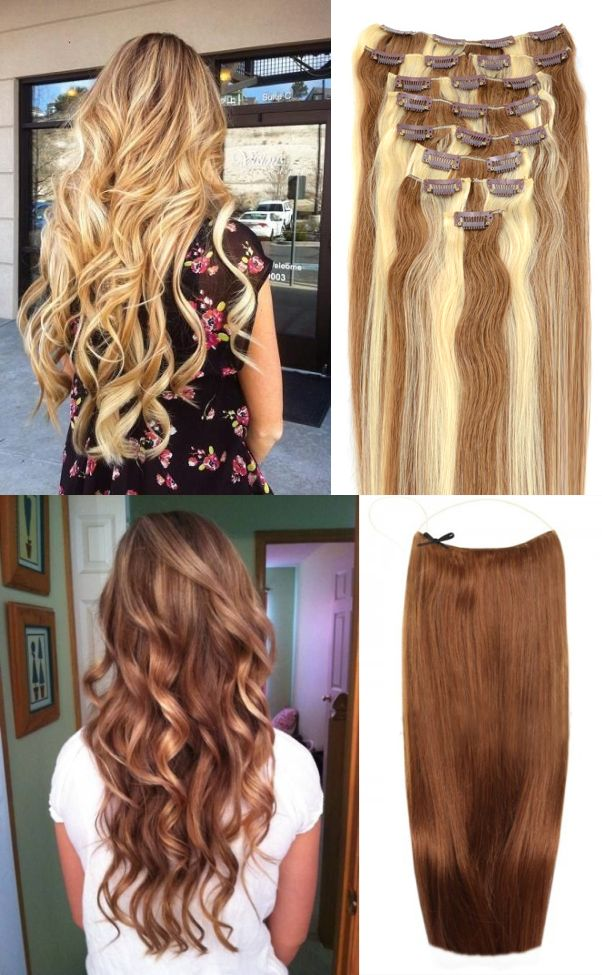 Clip In Or Flip Hair Extensions Clipin Flipin Long Hair