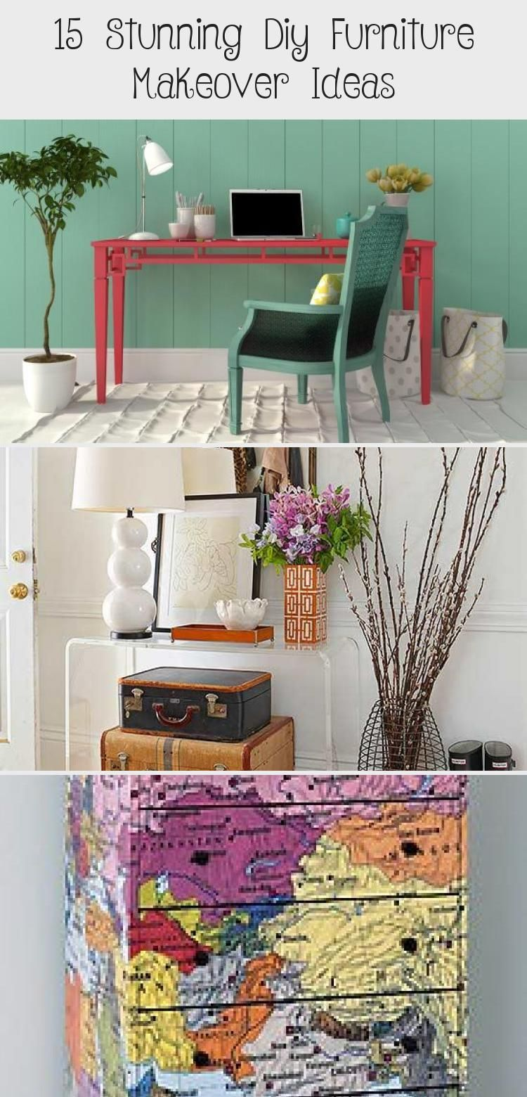 15 STUNNING DIY FURNITURE MAKEOVER IDEAS HOME DECOR DIY