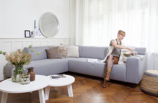 Banken en sofa\'s | Woonkamer | Woood | Nieuw Huis | Pinterest ...