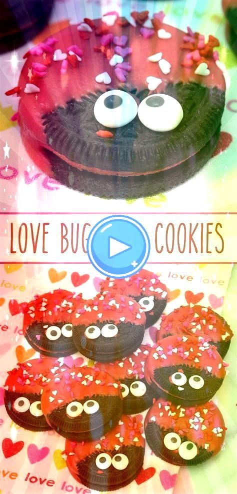 Oreo Cookies Love Bug Oreo Cookies  delish Hot  Spicy Cinnamon Oreos dressed to impress for Valentines DayLove Bug Oreo Cookies  delish Hot  Spicy Cinnamon Oreos dressed...