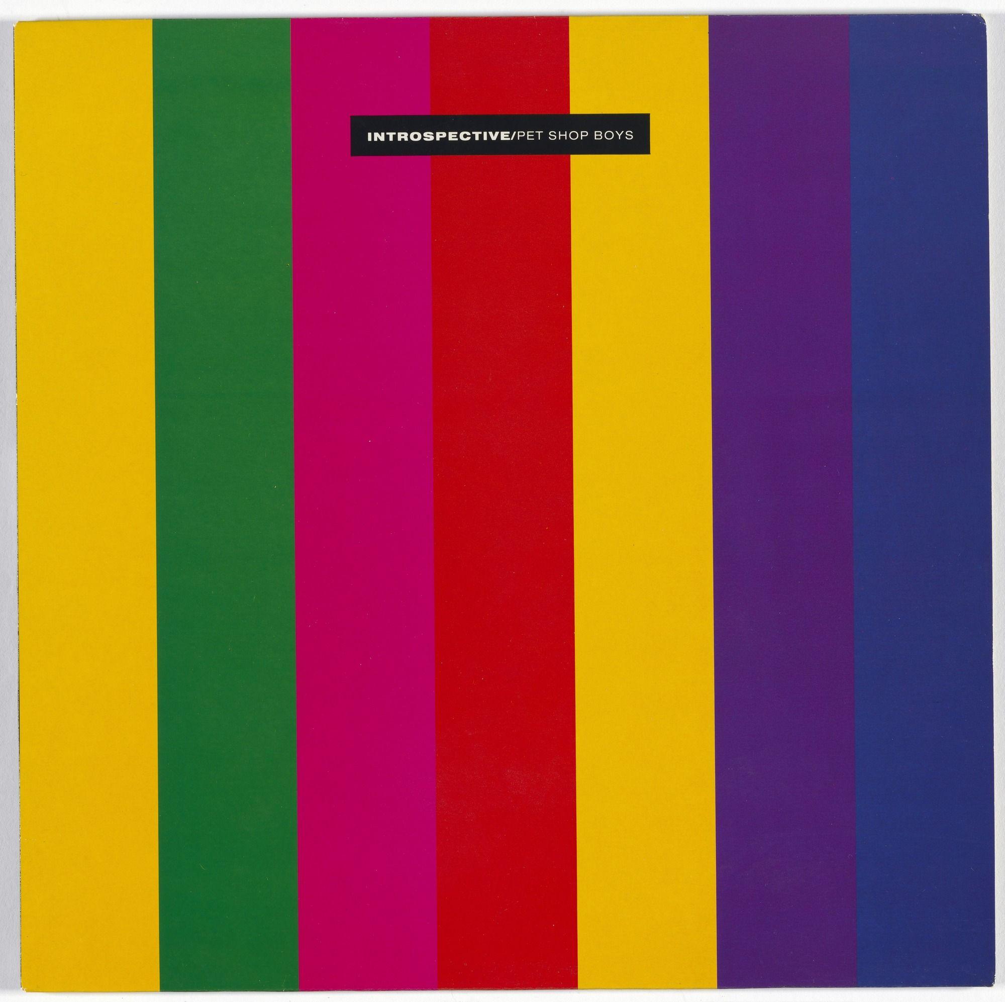 Mark Farrow Eric Watson Parlophone Records Album Cover For Pet
