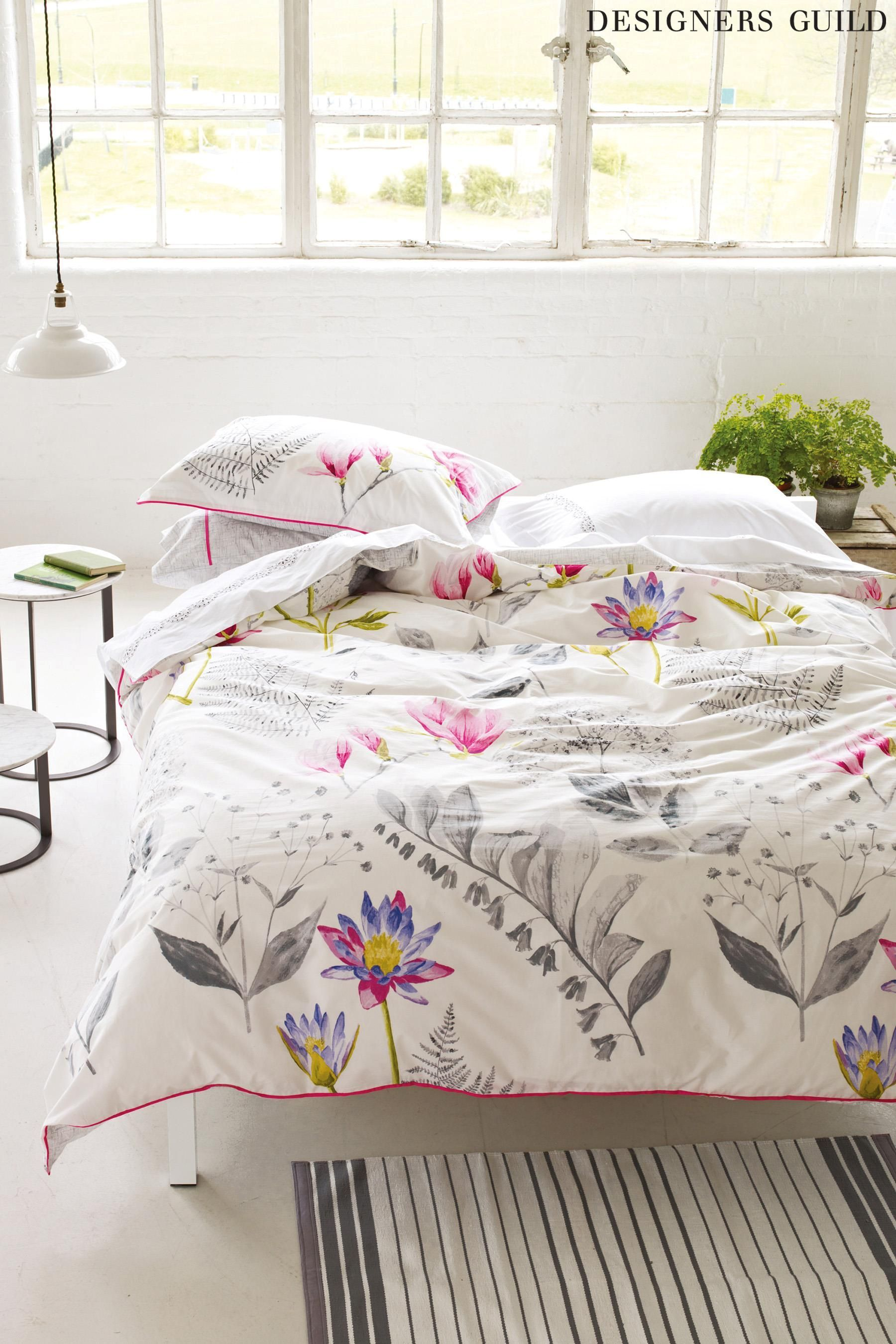 Designers Guild Mokuren Duvet Cover From The Next Uk Online