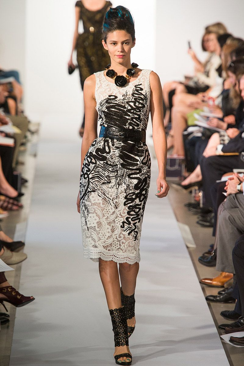 oscar de la renta runway | Oscar de la Renta Nails New York Fashion Week, Has His Best Summer Yet