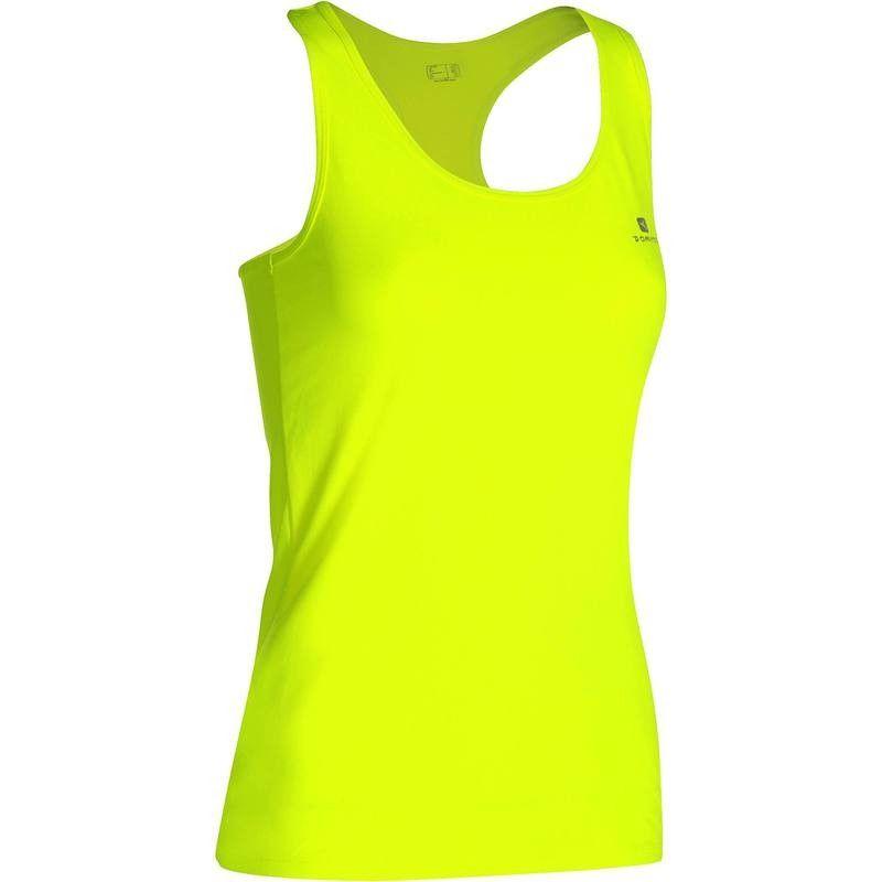 5ae7b0ca85 Camiseta Sin Mangas Fitness Cardio Domyos MyTop 100 Mujer Negro | DECATHLON  | Gym tank tops, Workout tank tops, Athletic tank tops