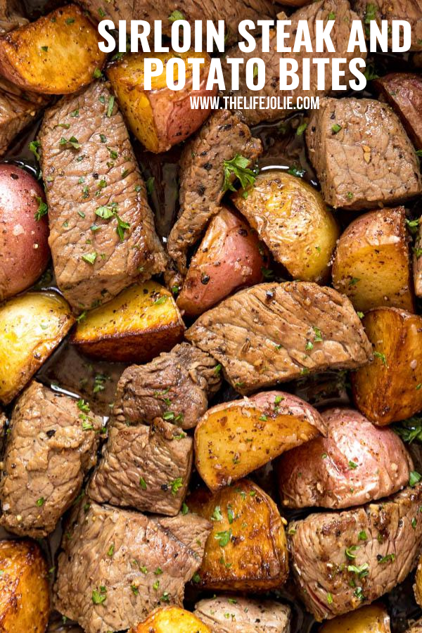 Sirloin Steak And Potato Bites Sirloin Steak Recipes Sirloin Recipes Top Sirloin Steak Recipe