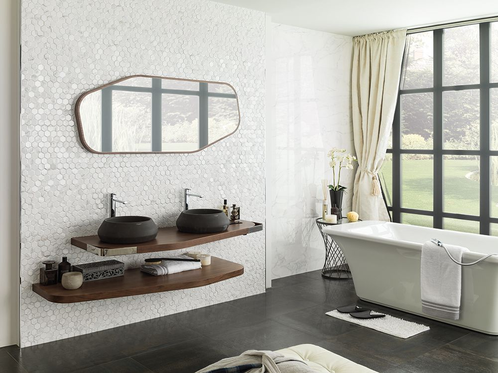 Forest Carrara Blanco Wall Tile Porcelanosa Wall Tiles Bathroom Design Home Design Decor