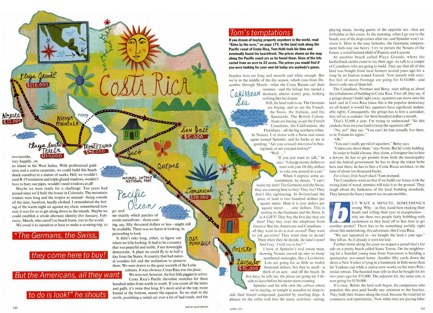 Costa Rica Map Travel MAP - Costa rica maps