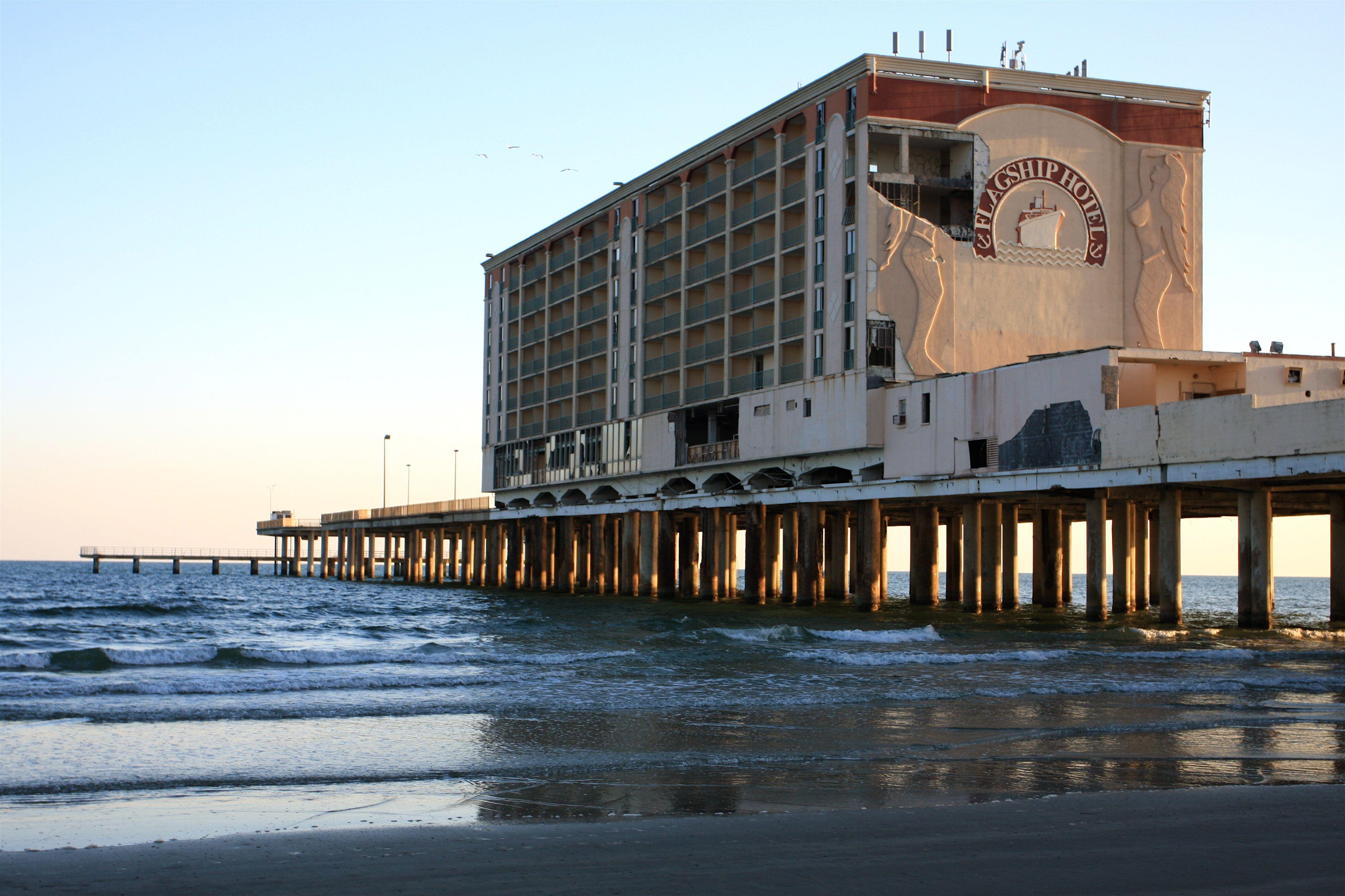 Abandoned Flagship Hotel Galveston Abandoned Places Galveston Abandoned