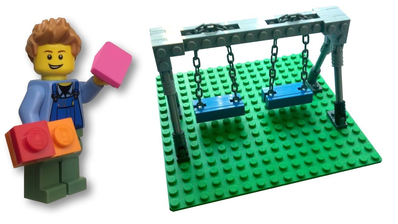 Lego Swing Set How To Tutorial Lego Swing Set Tutorial
