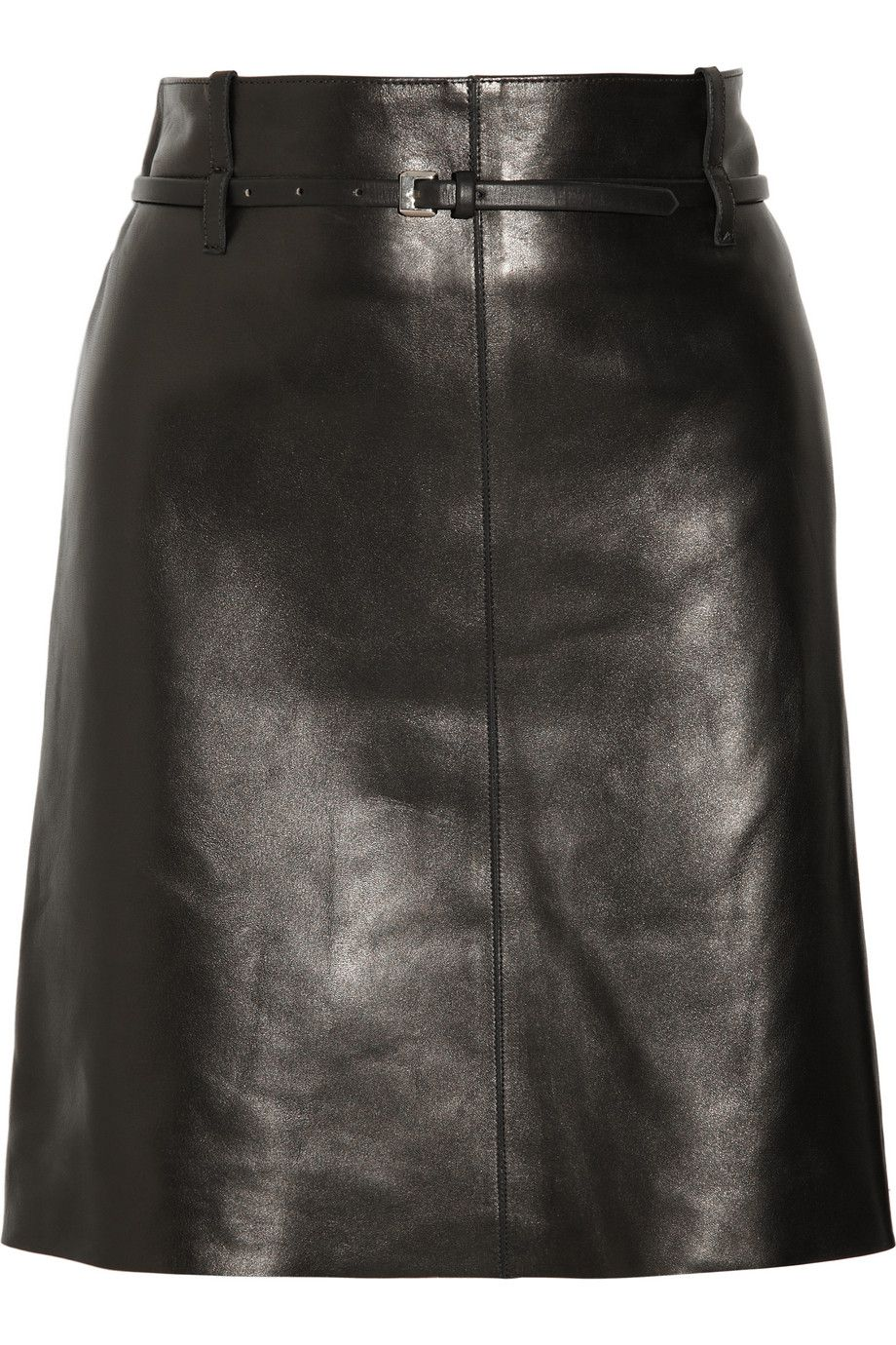 da9b726fa901 Chloé | Belted Leather Skirt | Authentic Self | Long leather skirt ...