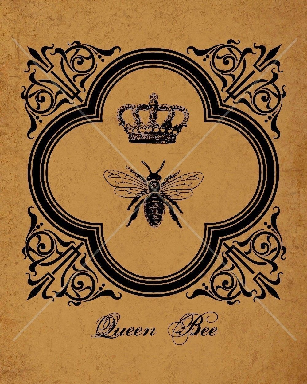 queen bee tattoo - photo #25