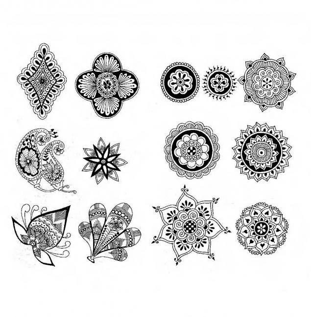 Exelent Fleur De Lotus Mandala Adornment - Coloring Page Ideas ...