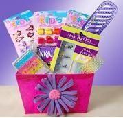 pampered tween gift basket