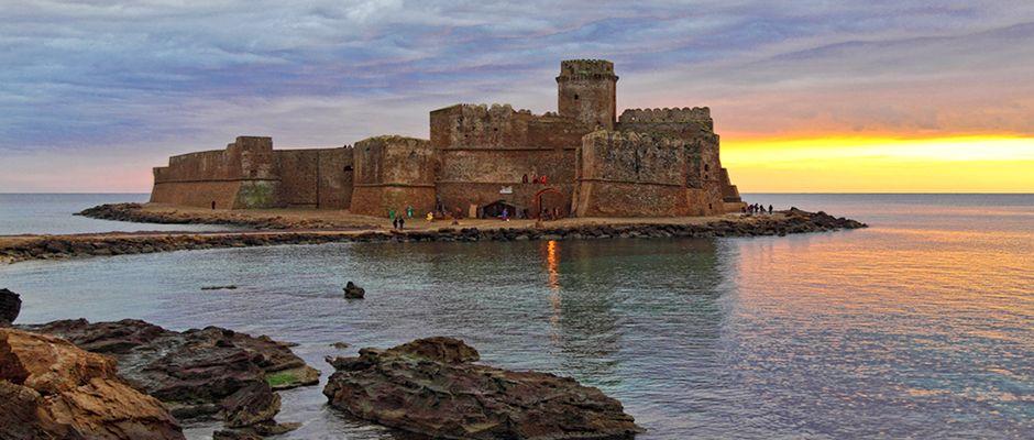 Le Castella, Crotone. Find more at In