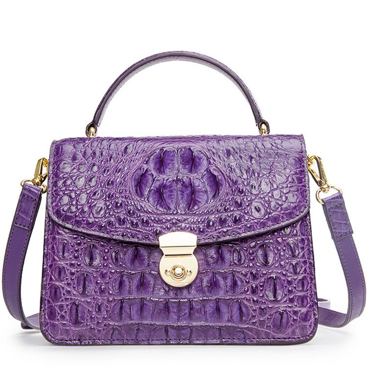 35c63ca3503 Ladies Designer Crocodile Purses Cross Body Handbags | Purple Stuff ...