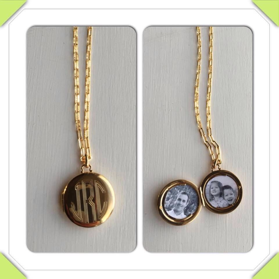 Mother's Day - personalized locket. Click pic to shop
