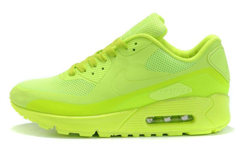 official photos dacf7 096a0 Nike 2011 Air Max Shoes 90 Hyperfuse Neon Yellow  air80max1066  -  72.08   Nike  max air, Nike air max 2012