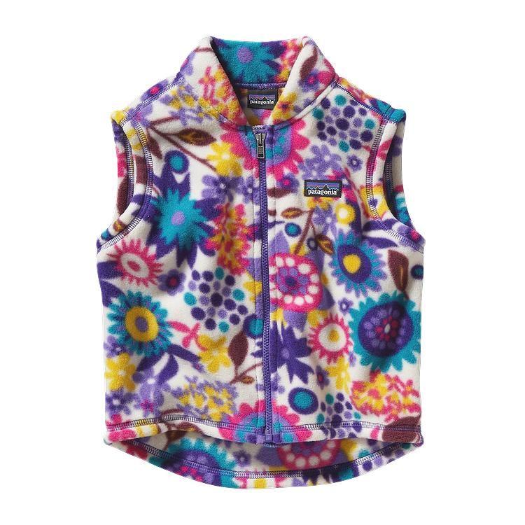 Baby Synchilla 174 Fleece Vest With Images Girls Fleece